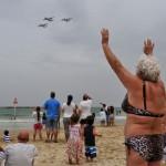 Парад авиации в Израиле