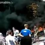 Идет зачистка Майдана от палаток и баррикад, есть раненые
