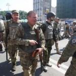 Вооруженные люди с гранатометами захватили Киевскую городскую администрацию