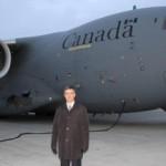 Самолет с военной помощью Канады приземлился в Украине