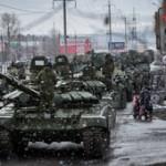 В Москве горит здание Генштаба вооруженных сил России