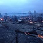 Власти России посоветовали жертвам пожаров отстраиваться «как-то самим»