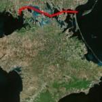 Украина может построить вокруг Крыма судоходный канал, превратив его в остров