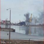 В Северодвинске взорвалась и сгорела атомная подводная лодка «Орел» (фото)