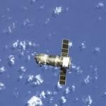 Космический корабль России с Флагом Победы на борту взорвался в космосе!