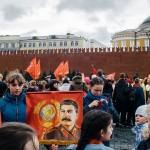 Странности – 4000 школьников приняли в пионеры под портретами Сталина на Красной Площади