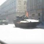 Перспективные БМП «Армата», «Курганец» не могут самостоятельно заехать на эвакуатор (видео)