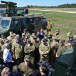 Президенту показали новые укранские проивотанковые системы, отправленные в зону АТО