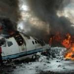 В России в следствии авиакатастрофы погибли более  десяти людей