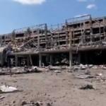 """""""Одни руины"""" – что осталось от аэропорта сейчас (видео)"""