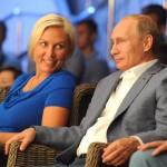 Новая любовница Путина на 20 сантиметров его выше