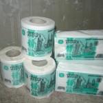 Рубль постепенно привязывается к туалетной бумаге — соцсети