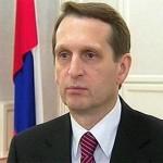 Нарышкин потребовал отменить санкции против депутатов госдумы в… Монголии