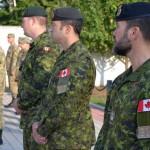 Военнослужащие Канады уже под Львовом и Хмельницким (фото)
