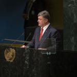 Русские фашисты обиделись и покинули зал ООН, когда Порошенко назвал РФ агрессором