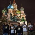 Фото дня — бойцы полка «Азов» сфотографировались на Красной Площади