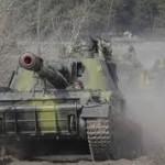 В 15 км от украинской границы обнаружен эшелон российских танков, который ждет отправки на Донбасс. ВИДЕО