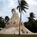 1.800 тонн песка: во Флориде построен замок-рекордсмен.