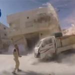 В Сети появилось видео удара авиации РФ по сирийскому госпиталю и мирным жителям