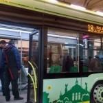 Львовский электробус и донецкие бензоколонки (фото)