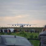 Визит украинского АН-225 вызвал ажиотаж среди немецких споттеров