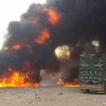 Россия разбомбила гуманитарный конвой на границе с Турцией