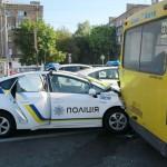 40% автомобилей патрульной полиции Киева требуют ремонта