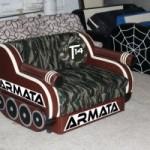 В России начали продавать танки «Армата» в виде… диванов