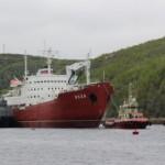 Из-за нехватки судов Россия в Сирию доставляет грузы ледоколами