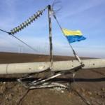 Выведена из строя взрывами половина линий энергоснабжения Крыма