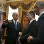 Американцы повторно сделали ставку на Порошенко и Яценюка