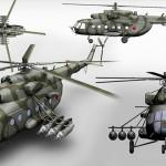 В Сирии пропали два российских военных вертолета