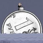 Нормальный курс рубля для России это 210 за доллар — Bank of America