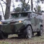 В Украине приняли на вооружение бронеавтомобиль «Тритон»