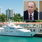 Британские журналисты показали роскошную яхту Путина