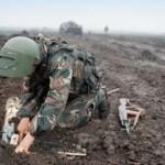 Саперы провели учения по минированию подступов к Москве