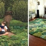 Художник, делающий удивительные ковры