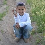 Израильский мальчик нашел статуэтку богини любви, которой около 3400 лет