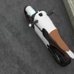 Показан прототип электромотоцикла Tesla