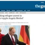 Путин приказал уничтожить Ангелу Меркель как политика — TheGuardian