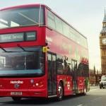 В Лондоне запустили первые 5 электрических автобусов
