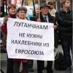 В оккупированном Донбассе начался массовый голод