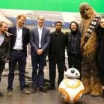 Принцы Уильям и Гарри посетили студию «Звездных войн»