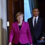 Обама-Меркель: санкции останутся пока Россия не уйдет из Украины