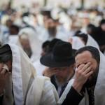 Молитва коэнов прошла в Иерусалиме возле стены плача. Фото