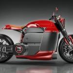 Британский дизайнер представил концепт электромотоцикла Tesla Model M