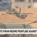 Повстанцы обстреляли из ПТУР российскую батарею артиллерии в Сирии (видео)