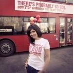 В Лондоне стали разъезжать «безбожные» автобусы