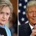 Трамп и Клинтон сравниваются и по симпатиям, и по антипатиям
