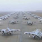 Пентагон отправил послание Путину в виде бомбардировщиков и истребителей на 9 мая